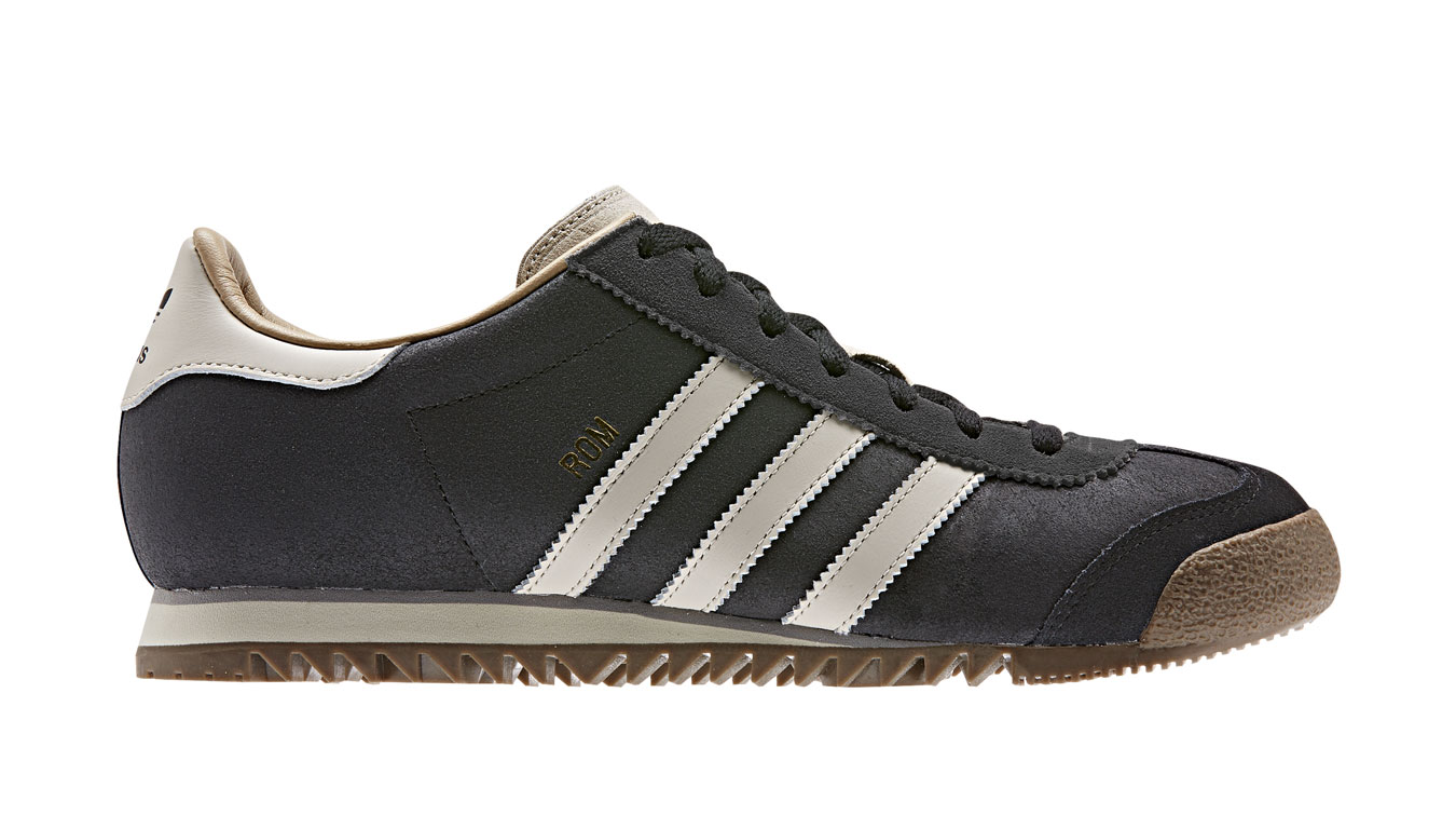 adidas Rom Carbon čierne EE5746 - vyskúšajte osobne v obchode