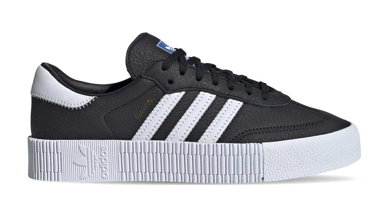 adidas Sambarose W čierne FV0766 - vyskúšajte osobne v obchode