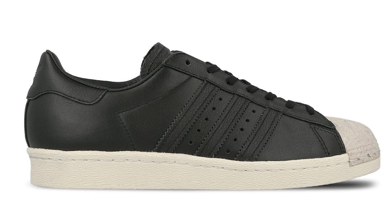 adidas Superstar 80s Cork čierne BY8707 - vyskúšajte osobne v obchode a32211d368b