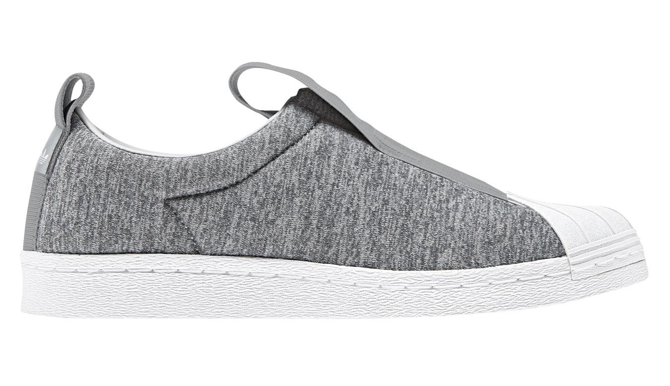 adidas Superstar BW3S Slip-On šedé CQ2520 - vyskúšajte osobne v obchode