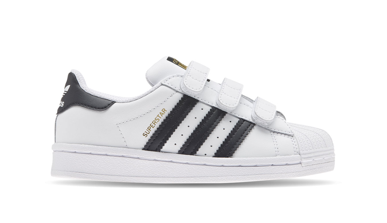 adidas Superstar C Kids biele EF4838 - vyskúšajte osobne v obchode