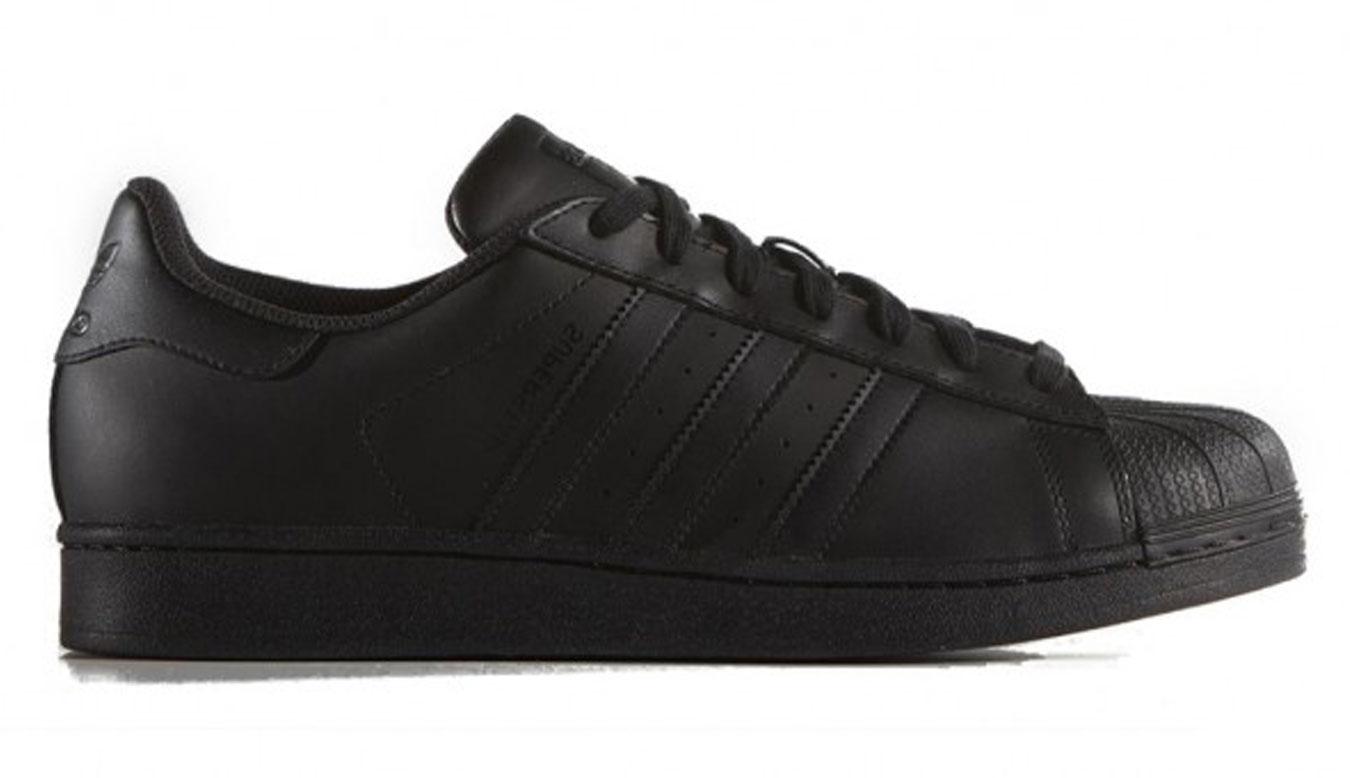 adidas Superstar Foundation Black čierne AF5666 - vyskúšajte osobne v obchode