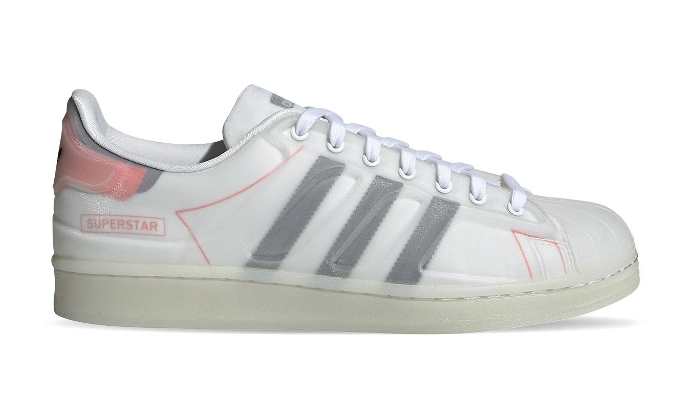 adidas Superstar Futureshell Ftwr White/Core Black/Semi Solar Red biele FX5553 - vyskúšajte osobne v obchode