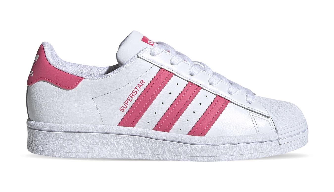 adidas Superstar Junior biele FW0773 - vyskúšajte osobne v obchode