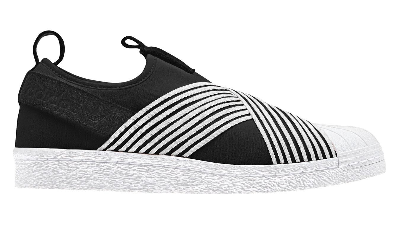 adidas Superstar Slip On čierne D96703 - vyskúšajte osobne v obchode