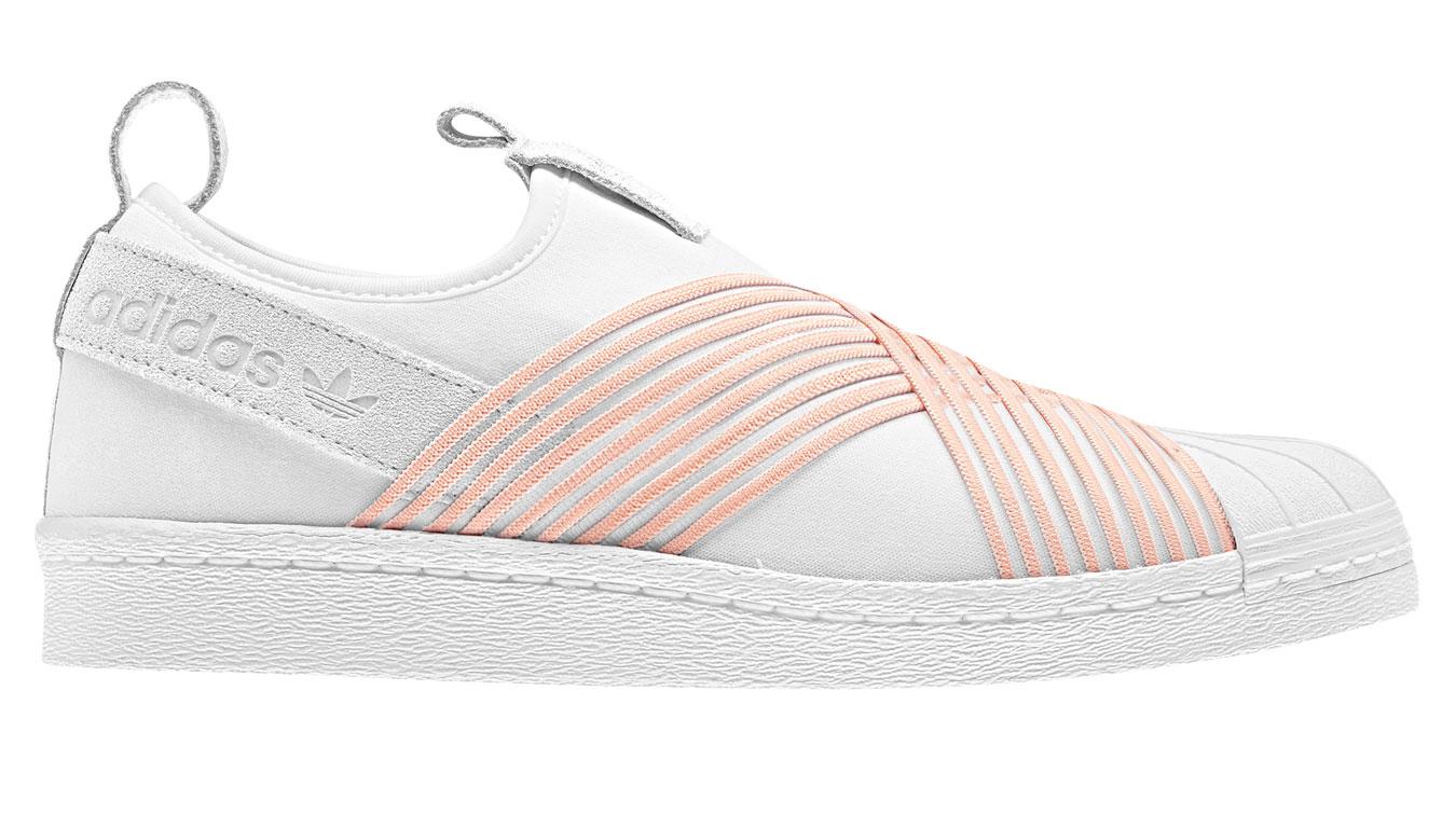 adidas Superstar Slip On biele D96704 - vyskúšajte osobne v obchode