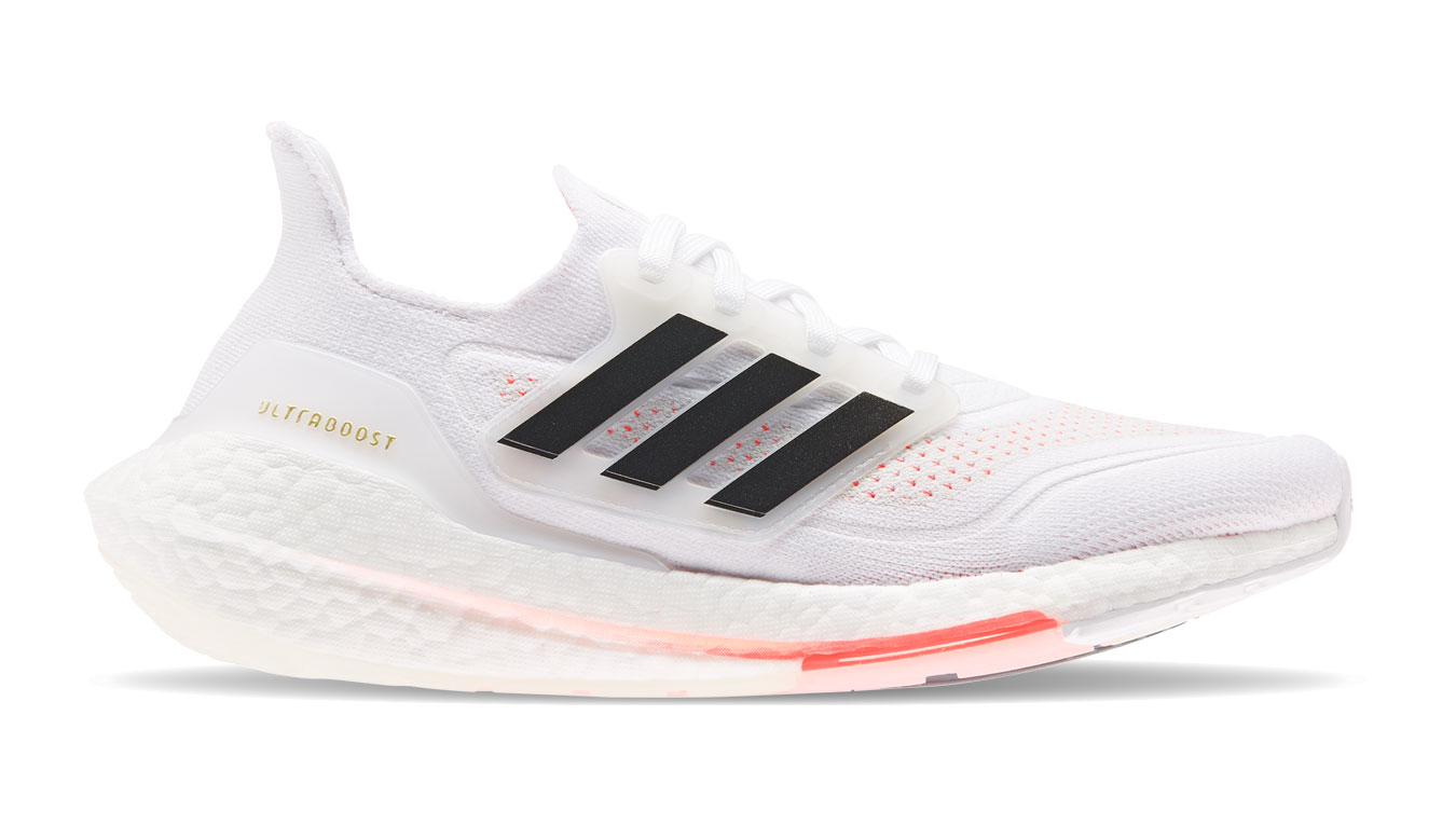 adidas Ultraboost 21 W biele S23840 - vyskúšajte osobne v obchode
