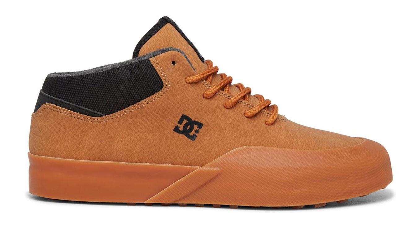 DC Shoes Dc Infinite Mid Wnt hnedé ADYS100602-WEA - vyskúšajte osobne v obchode