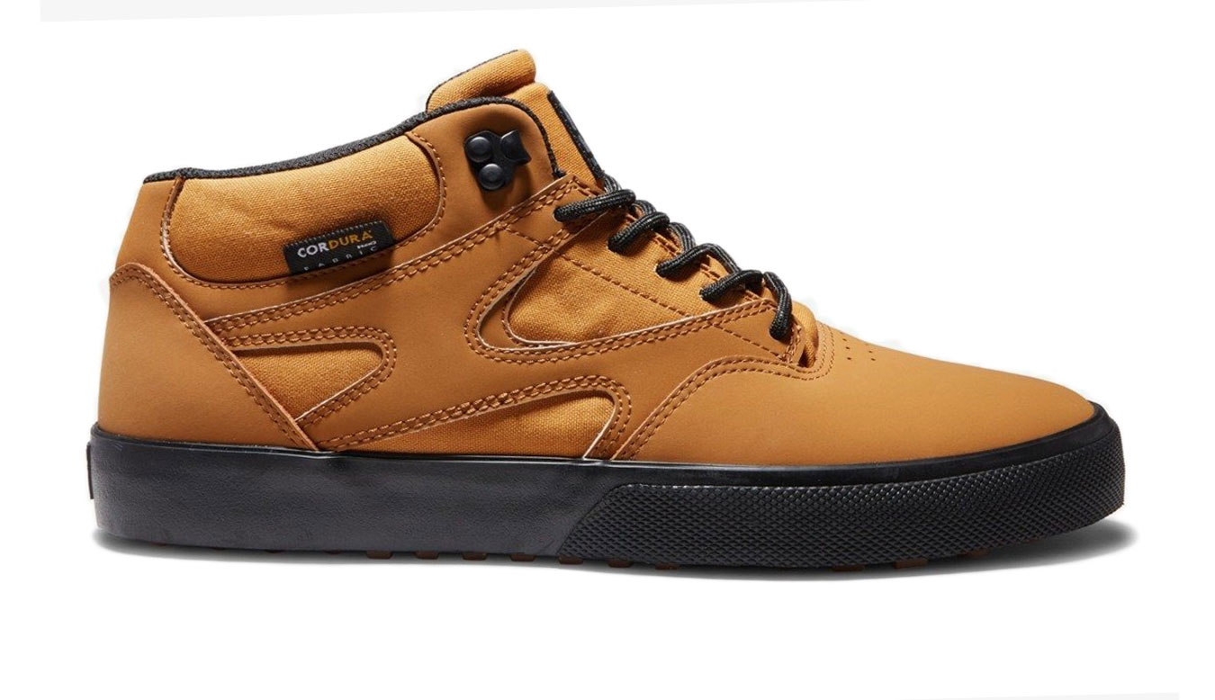 DC Shoes Kalis Leather Mid-Top Winter Men´s Shoes hnedé ADYS300641-WEA - vyskúšajte osobne v obchode