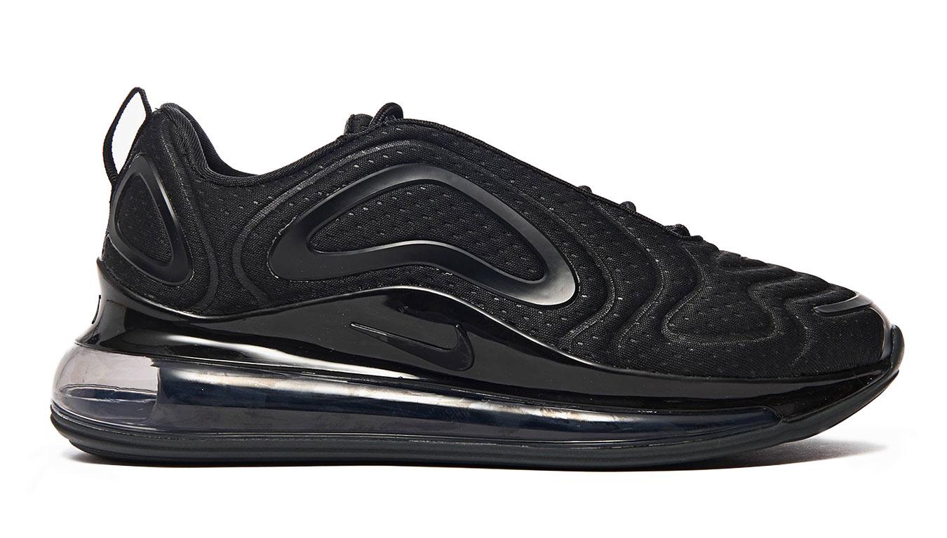 Nike Air Max 720 Triple Black čierne AO2924-015 - vyskúšajte osobne v obchode