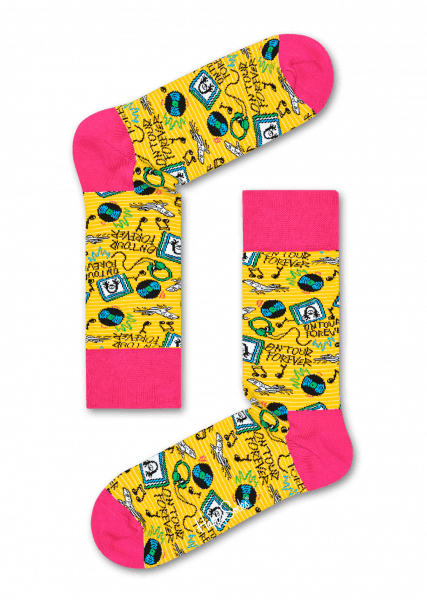 Happy Socks x Steve Aoki farebné AOK01-2000 - vyskúšajte osobne v obchode