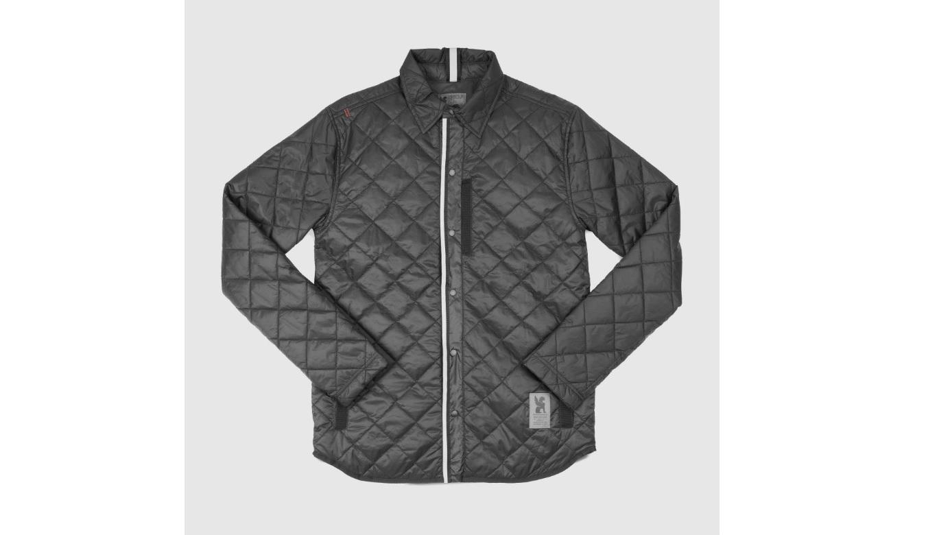 Chrome Industries Reversible Warm Work Shirt čierne AP-191-BLK - vyskúšajte osobne v obchode