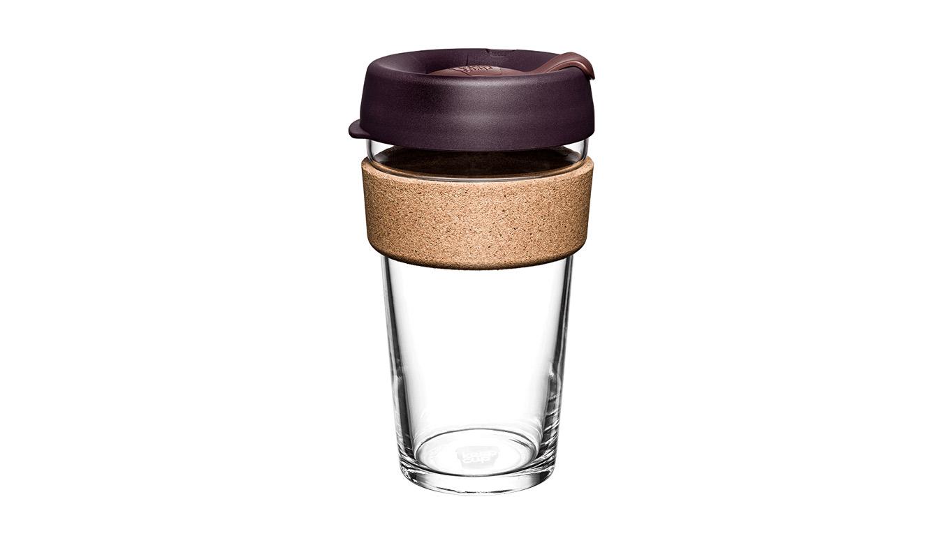 KeepCup Brew Cork Alder 16oz hnedé BCALD16 - vyskúšajte osobne v obchode