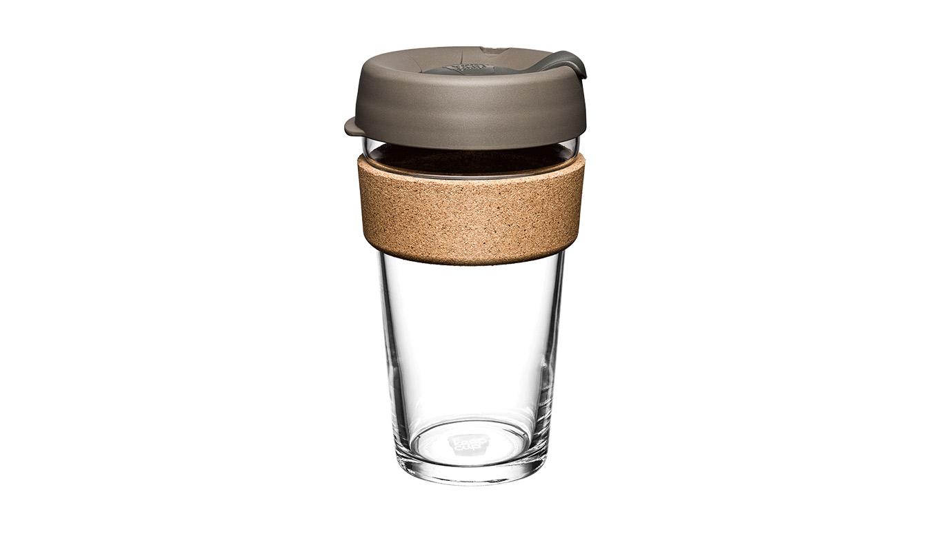 KeepCup Brew Cork Latte 16oz hnedé BCLAT16 - vyskúšajte osobne v obchode