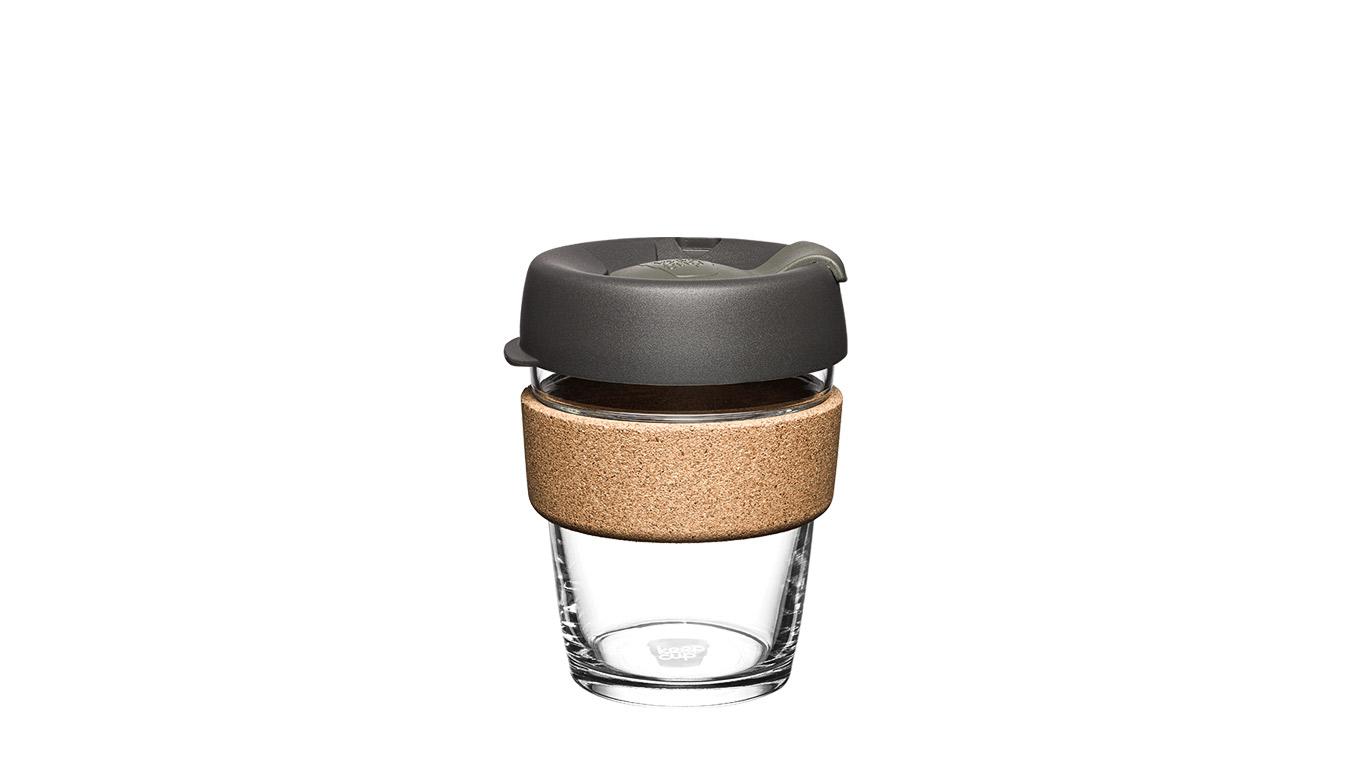 KeepCup Brew Cork Nitro 12oz hnedé BCNIT12 - vyskúšajte osobne v obchode