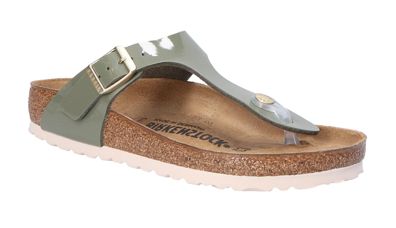 Birkenstock Gizeh BS Khaki Regular zelené 1013071 - vyskúšajte osobne v obchode