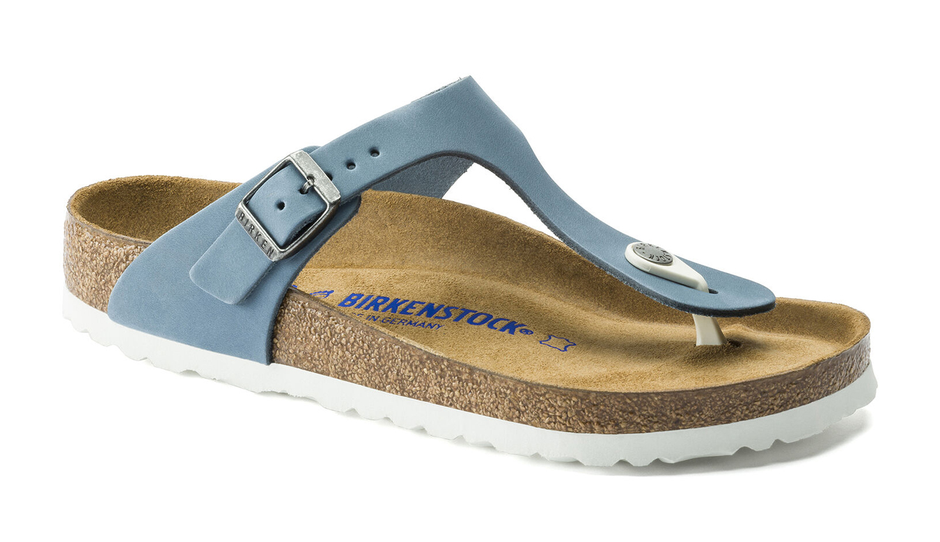 Birkenstock Gizeh BS Mineral Narrow modré 1016087 - vyskúšajte osobne v obchode