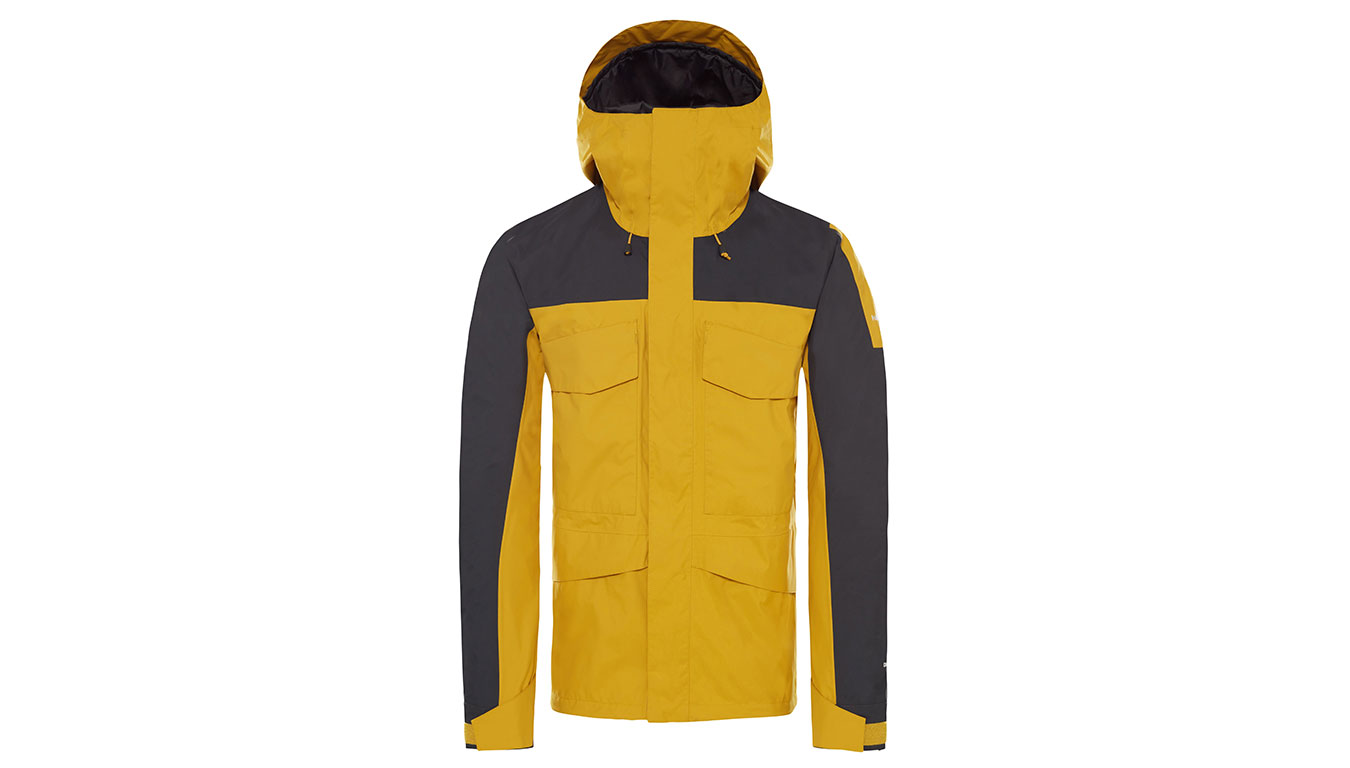 The North Face M Fantasy Ridge Leo YellowGrey žlté T93BP8WY1