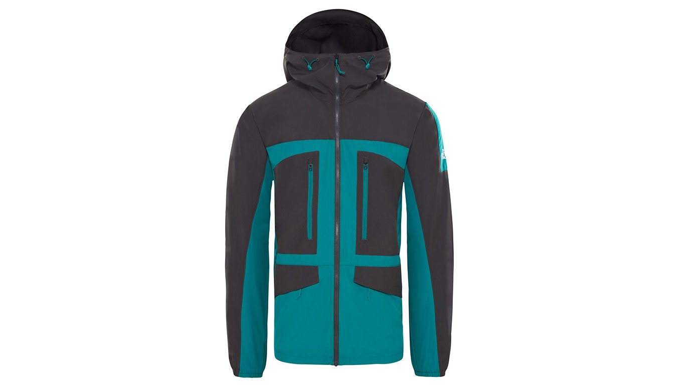 The North Face M Fantasy Ridge Lht Everglade-Grey tyrkysové T93BP97RD