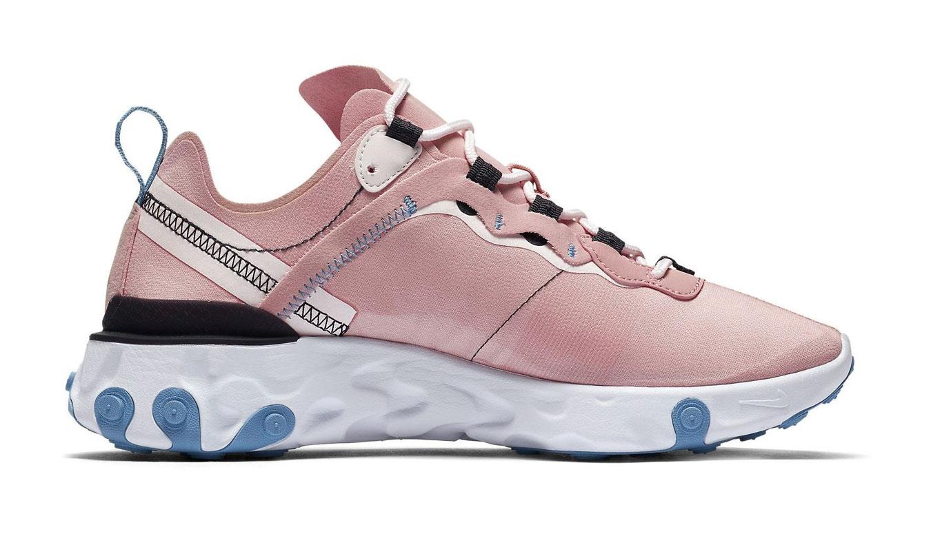 Nike W React Element 55 ružové BQ2728-602