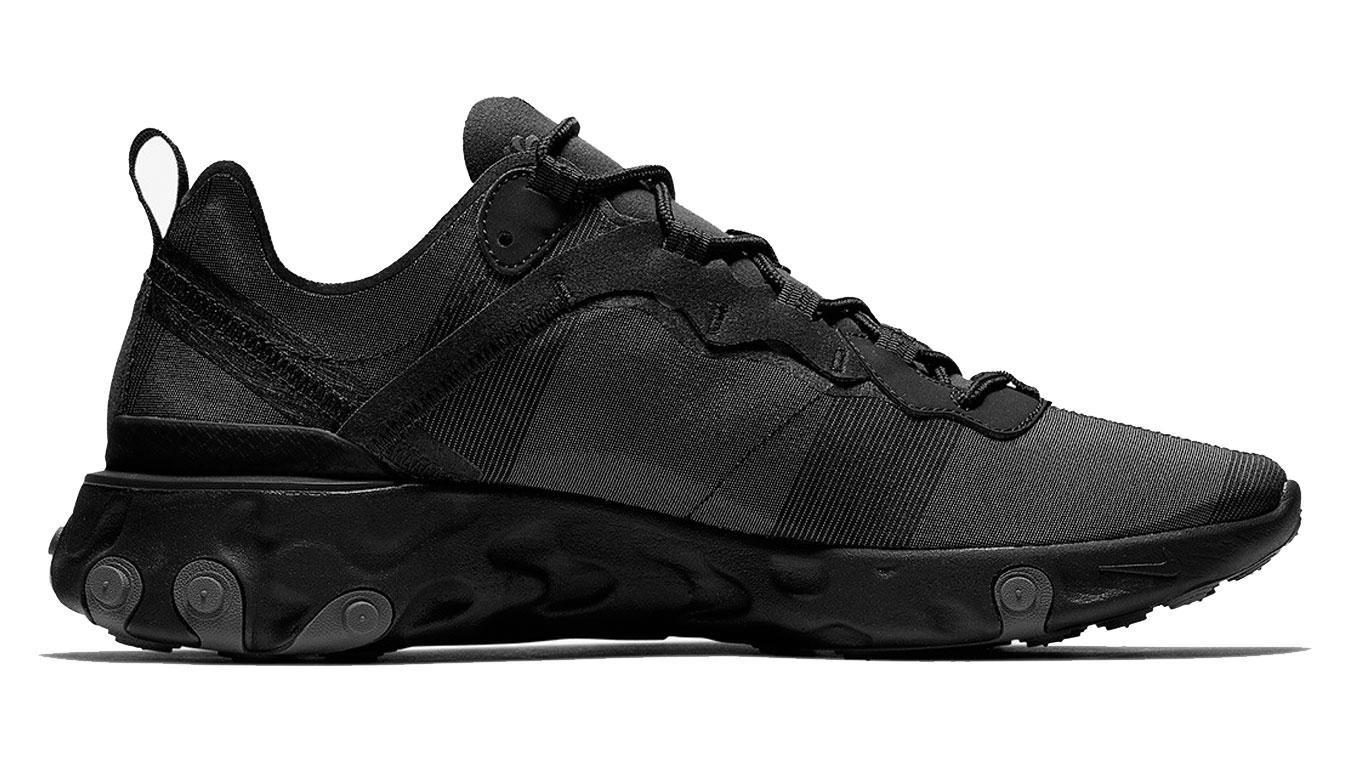 Nike React Element 55 čierne BQ6166-008 - vyskúšajte osobne v obchode
