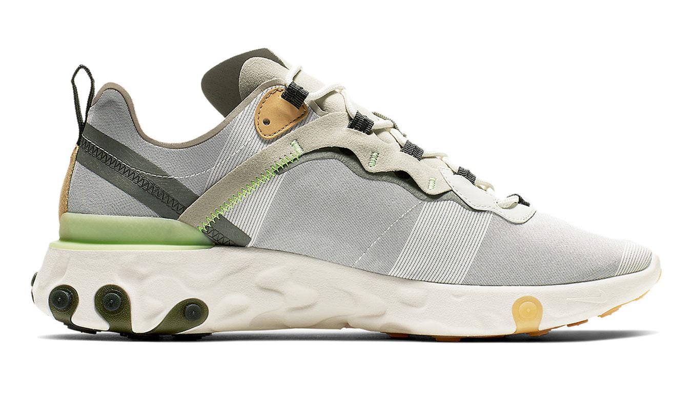 Nike React Element 55 šedé BQ6166-009 - vyskúšajte osobne v obchode
