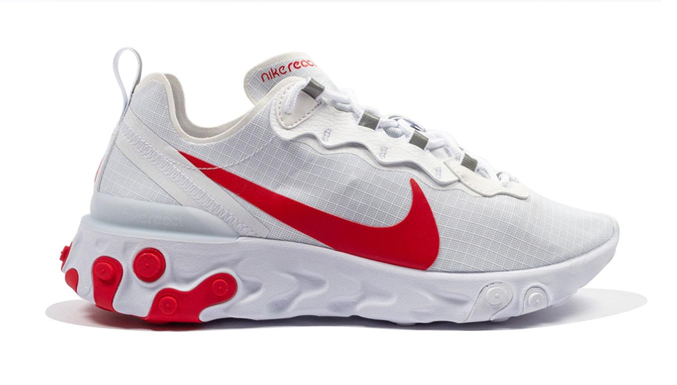 Nike React Element 55 Se Su19 biele BQ6167-102 - vyskúšajte osobne v obchode