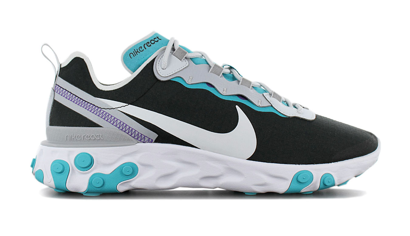 Nike React Element 55 šedé BV1507-001