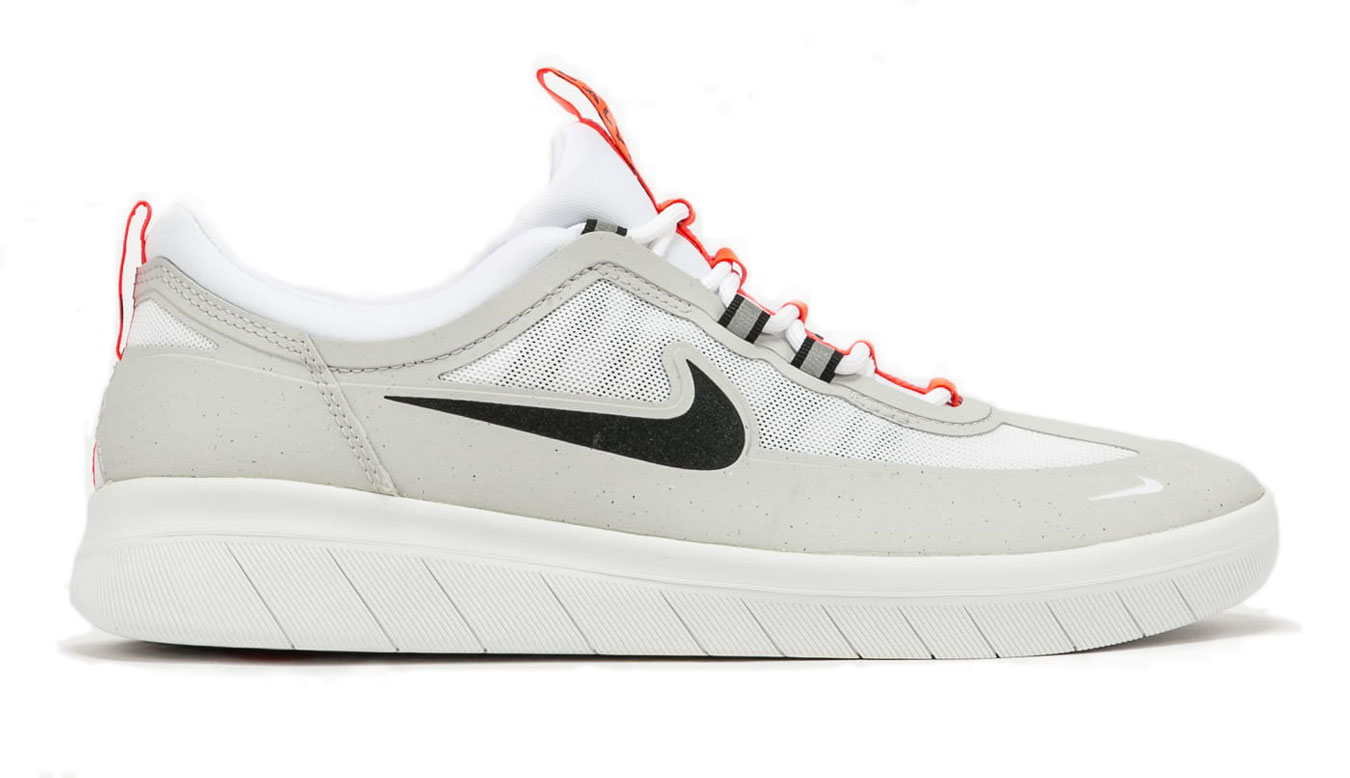 Nike SB Nyjah Free 2 šedé BV2078-007 - vyskúšajte osobne v obchode