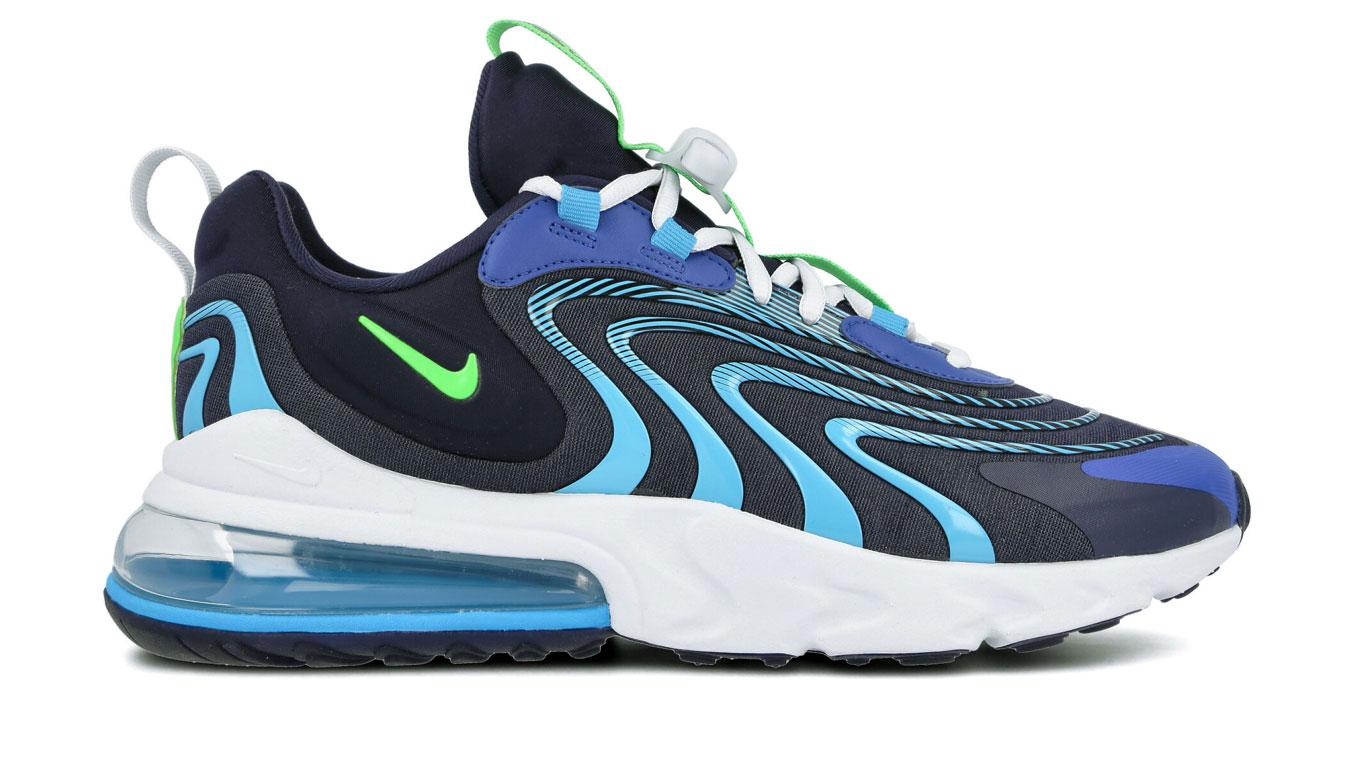 Nike Air max 270 react eng modré CD0113-400 - vyskúšajte osobne v obchode