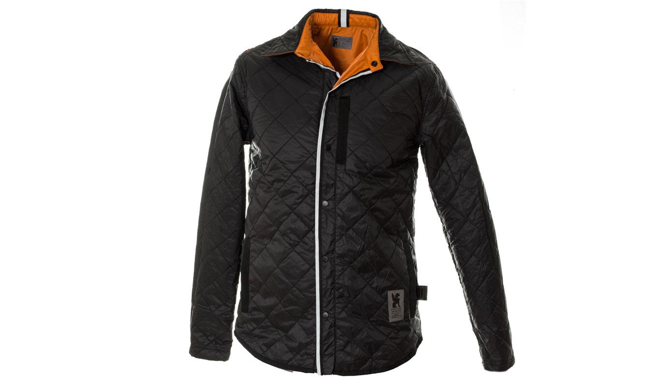 Chrome Industries Reversible Warm Work Shirt oranžové AP-191-ORA - vyskúšajte osobne v obchode