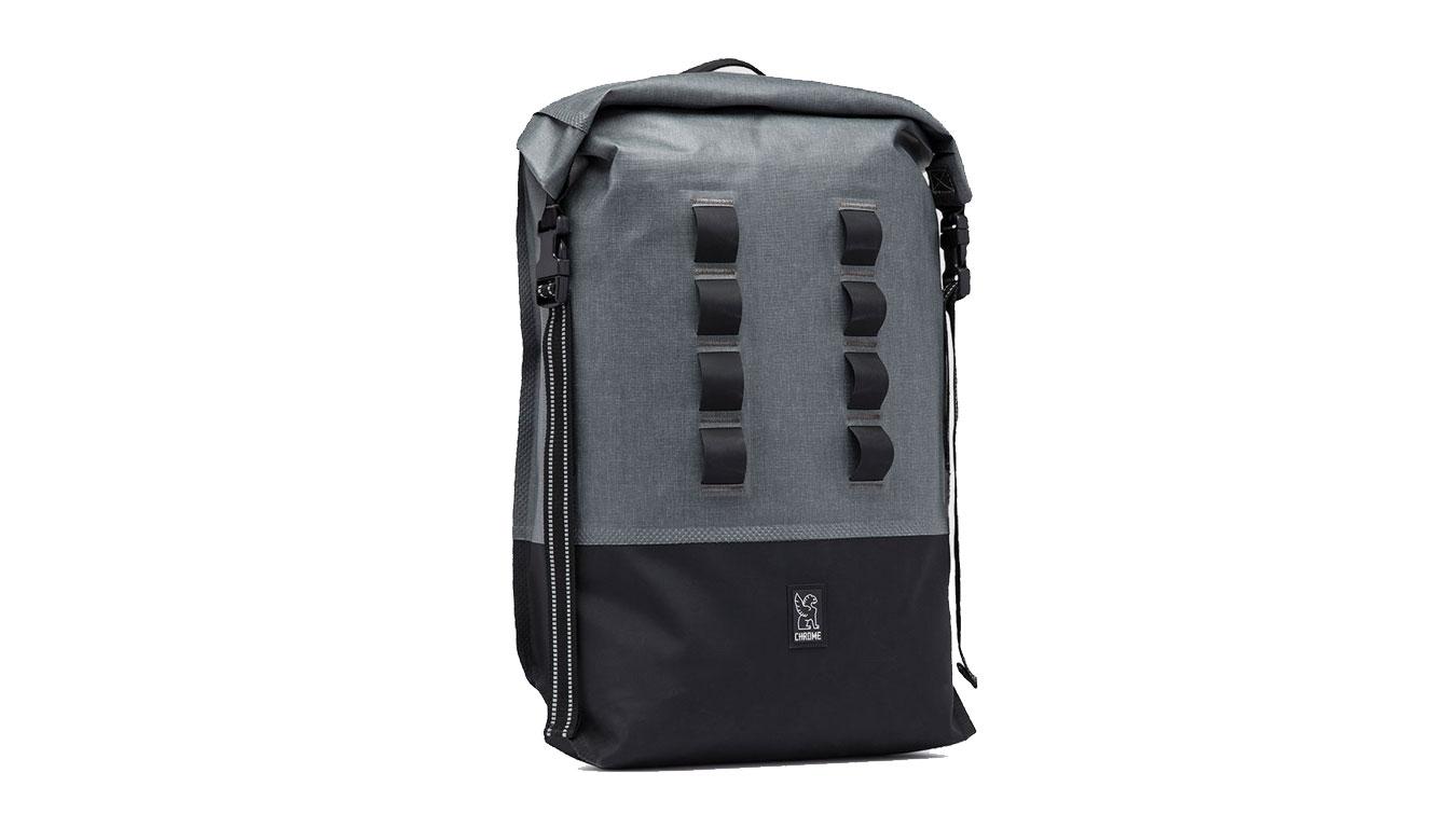 Chrome Industries Urban Ex Rolltop 28L Backpack Grey Black čierne BG-218-GYBK - vyskúšajte osobne v obchode