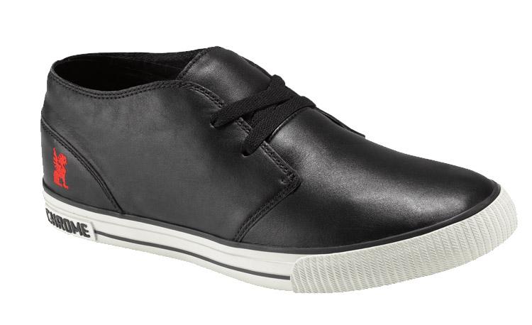 Kotníková obuv Chrome Riverton, čierna