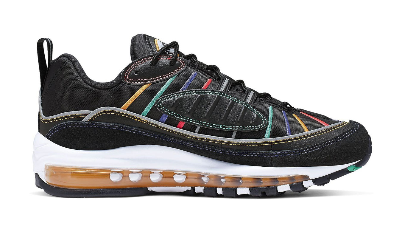 Nike W Air Max 98 Prm čierne CI1901-023