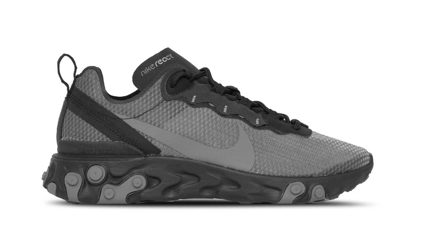 Nike React Element 55 Se čierne CI3831-001 - vyskúšajte osobne v obchode