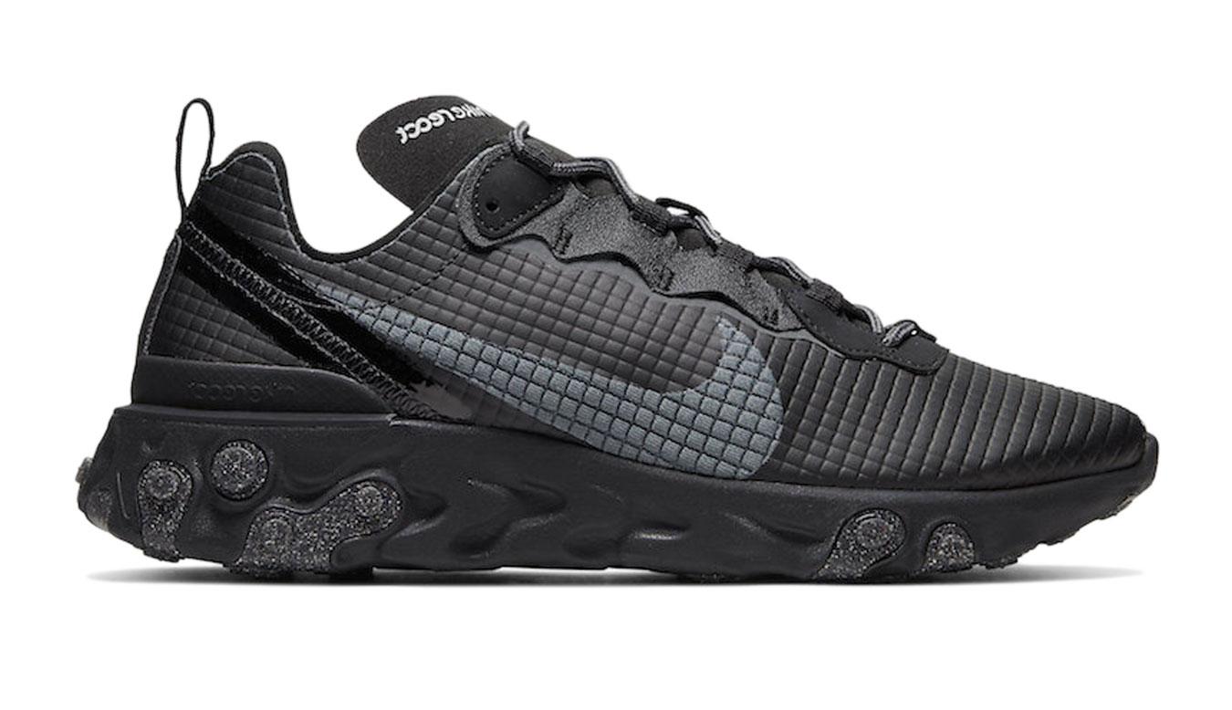 Nike React Element 55 Se čierne CI3835-002 - vyskúšajte osobne v obchode