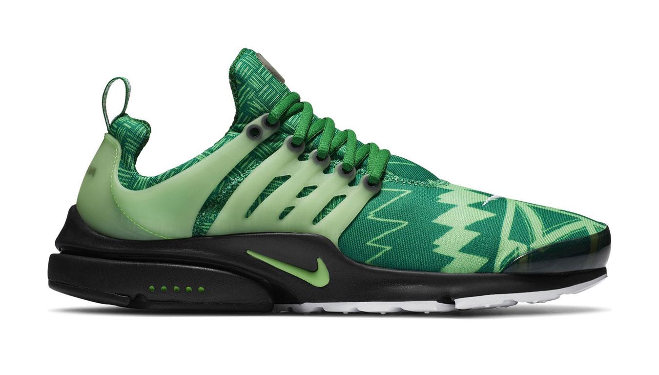 """Nike Air Presto """"Naija"""" zelené CJ1229-300 - vyskúšajte osobne v obchode"""