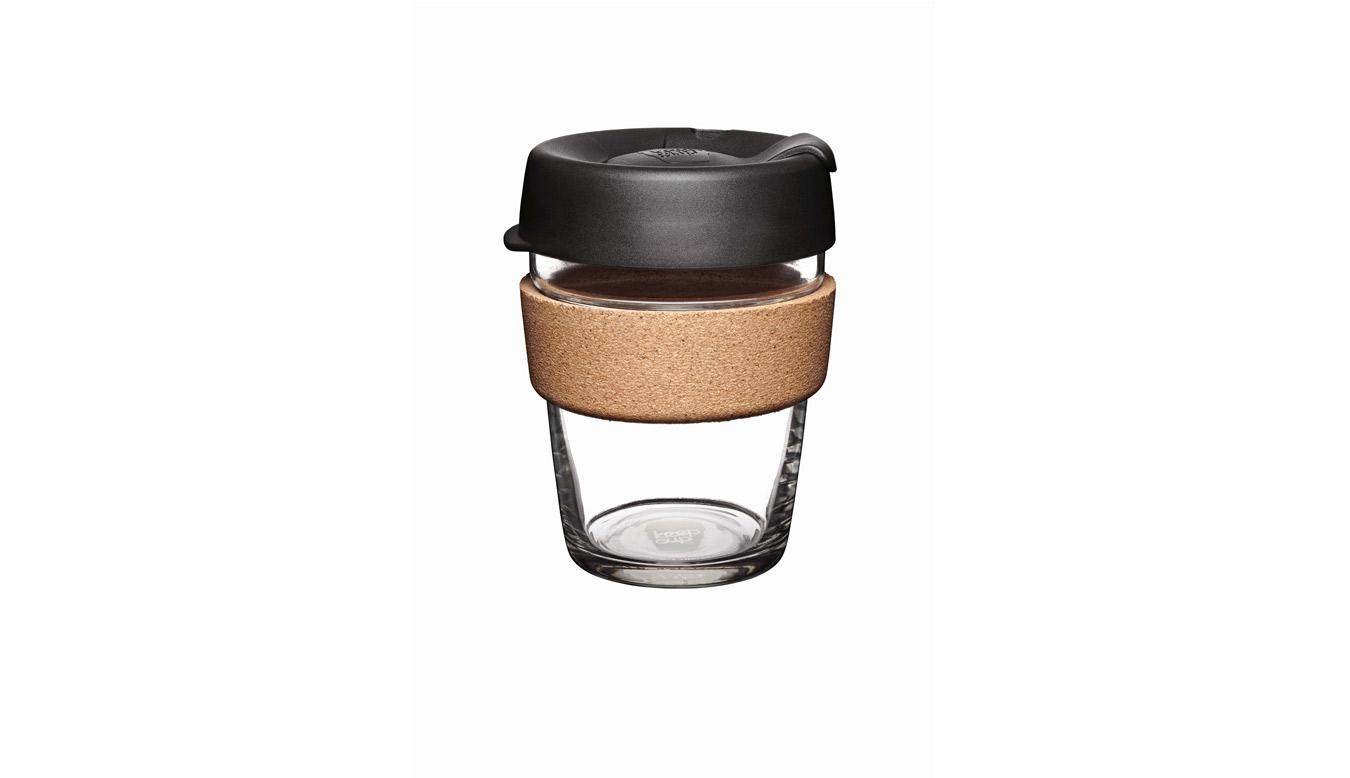 KeepCup Brew - Cork Edition Changemakers Espresso 12oz hnedé BESP12 - vyskúšajte osobne v obchode