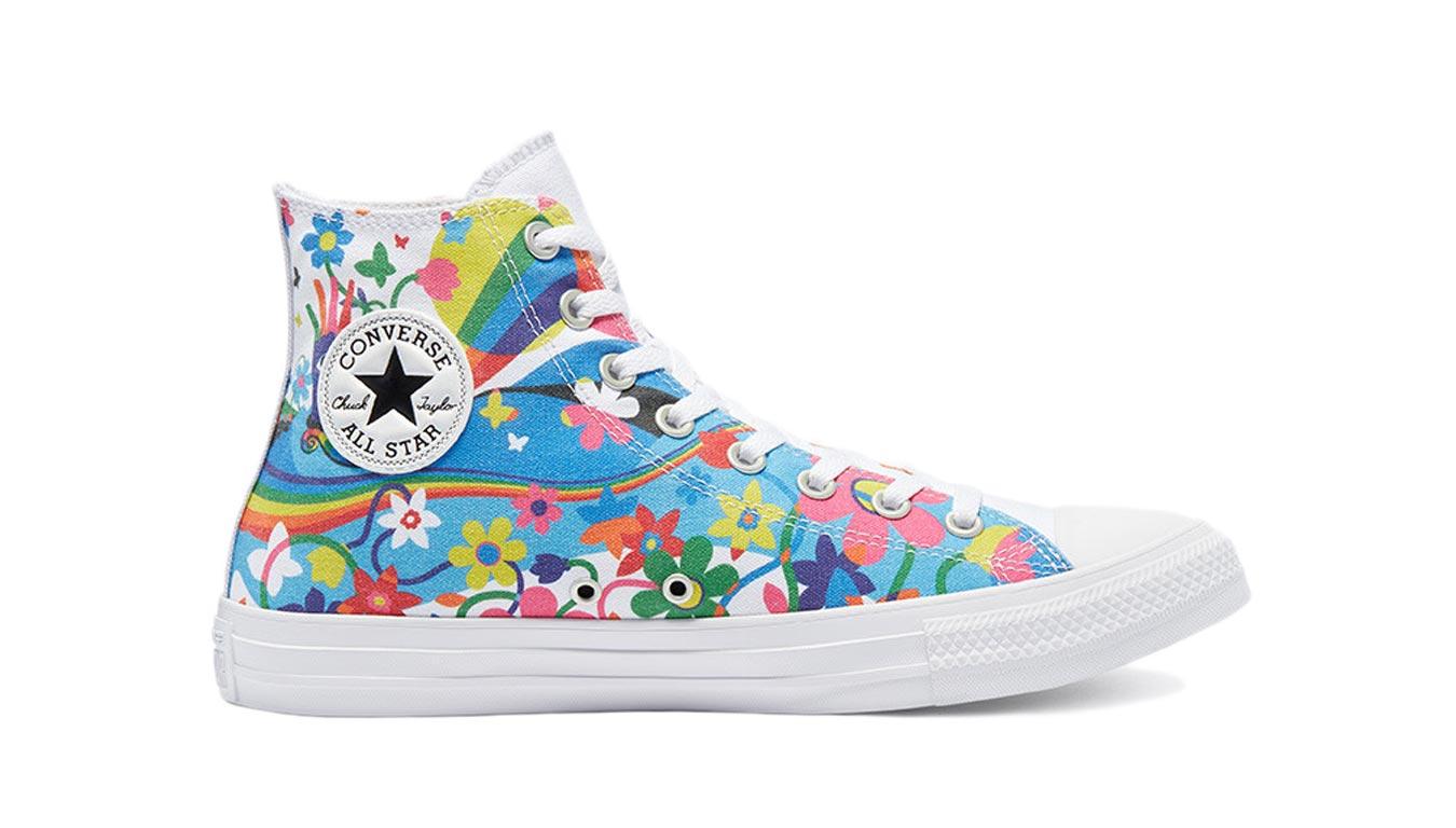 Converse Chuck Taylor All Star Hi Top Pride farebné 170822C - vyskúšajte osobne v obchode