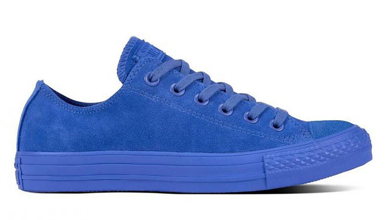 Converse Chuck Taylor All Star Leather modré 161414C - vyskúšajte osobne v obchode