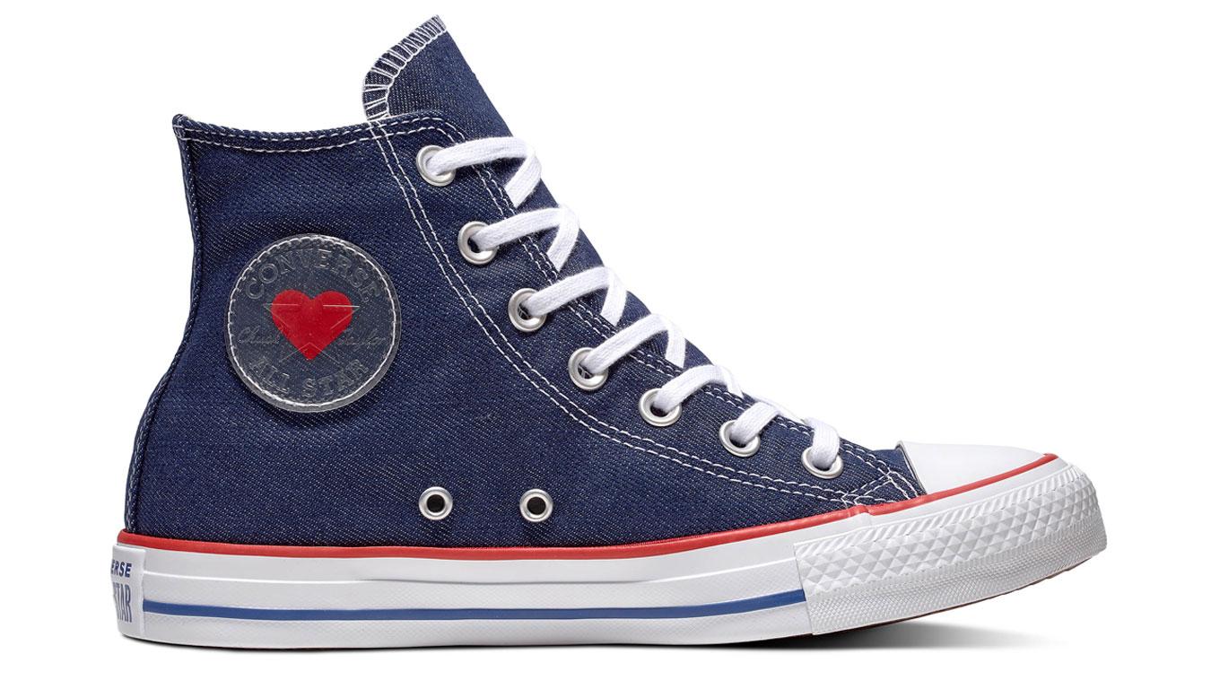 Converse Chuck Taylor All Star modré 163303C - vyskúšajte osobne v obchode