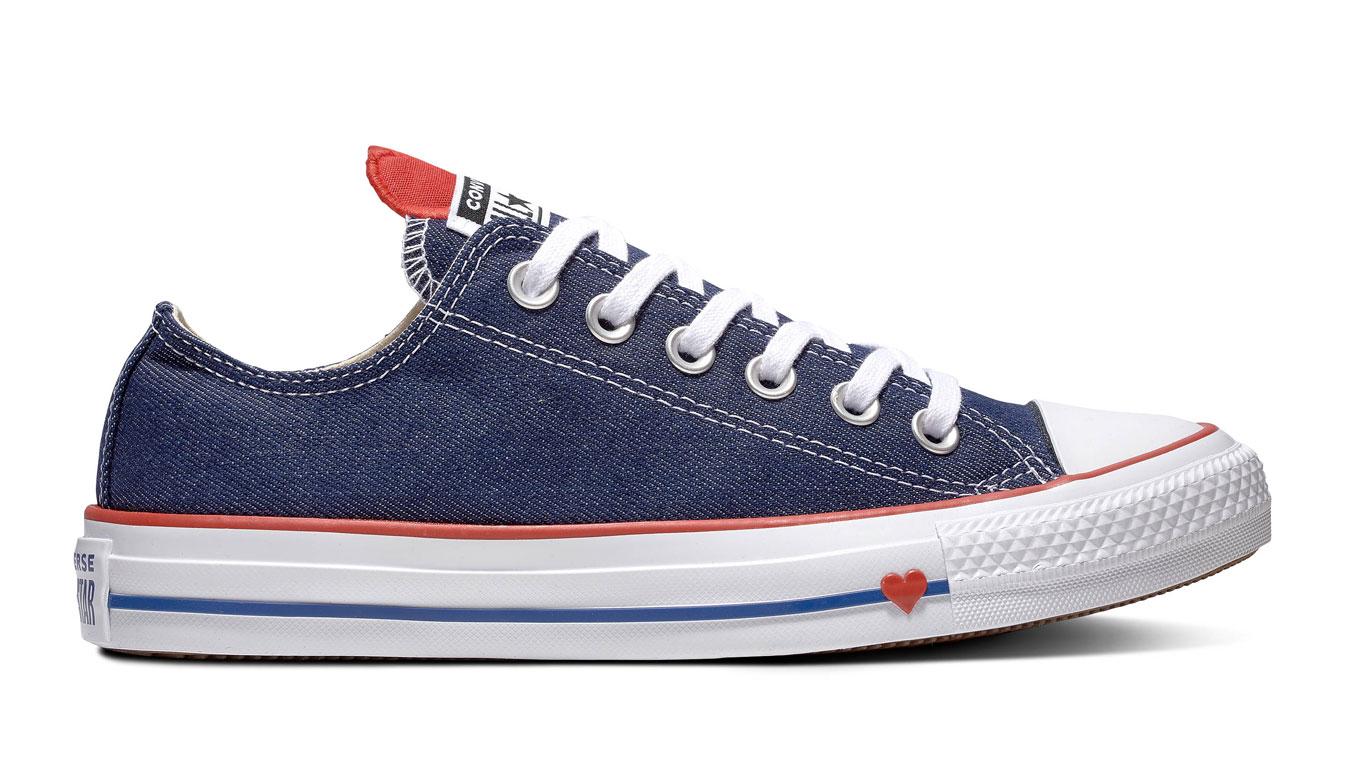 Converse Chuck Taylor All Star modré 163308C - vyskúšajte osobne v obchode