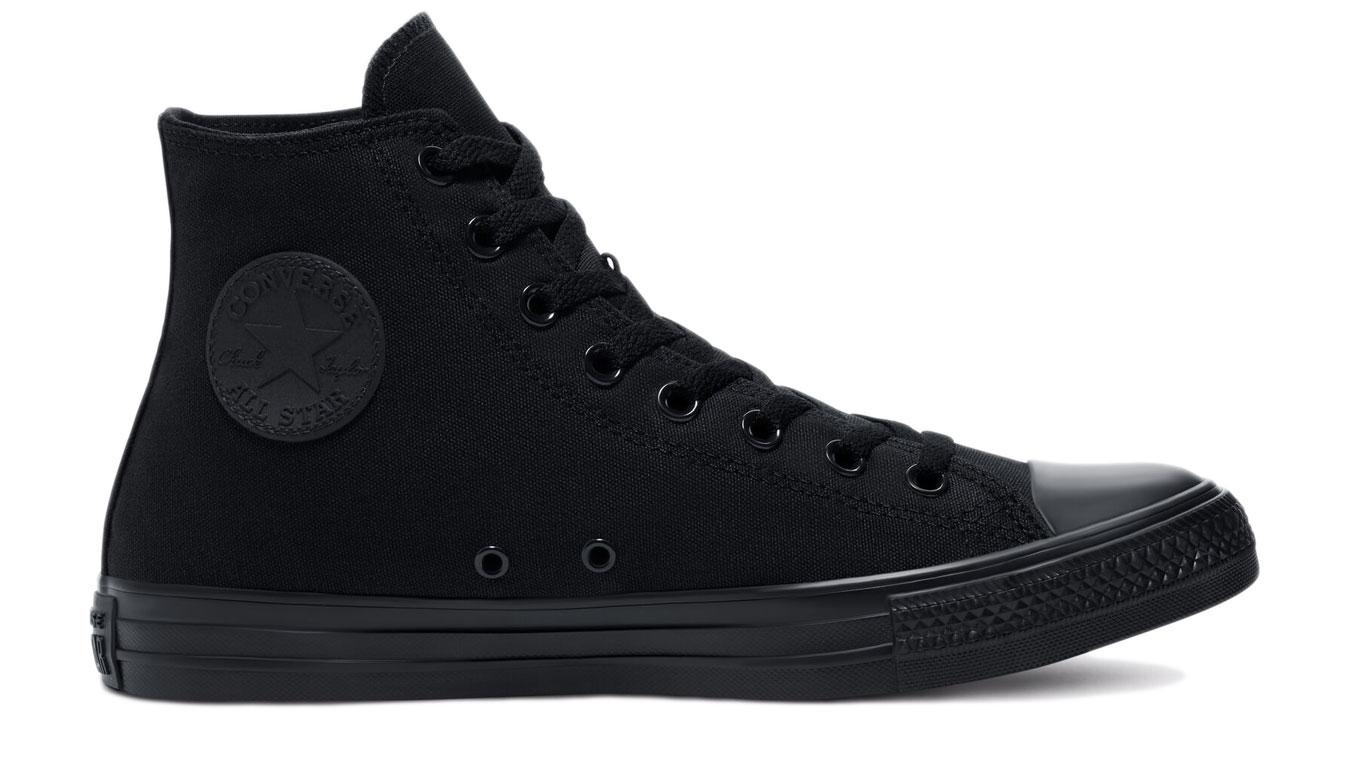 Converse Chuck Taylor All Star Hi Black čierne M3310 - vyskúšajte osobne v obchode