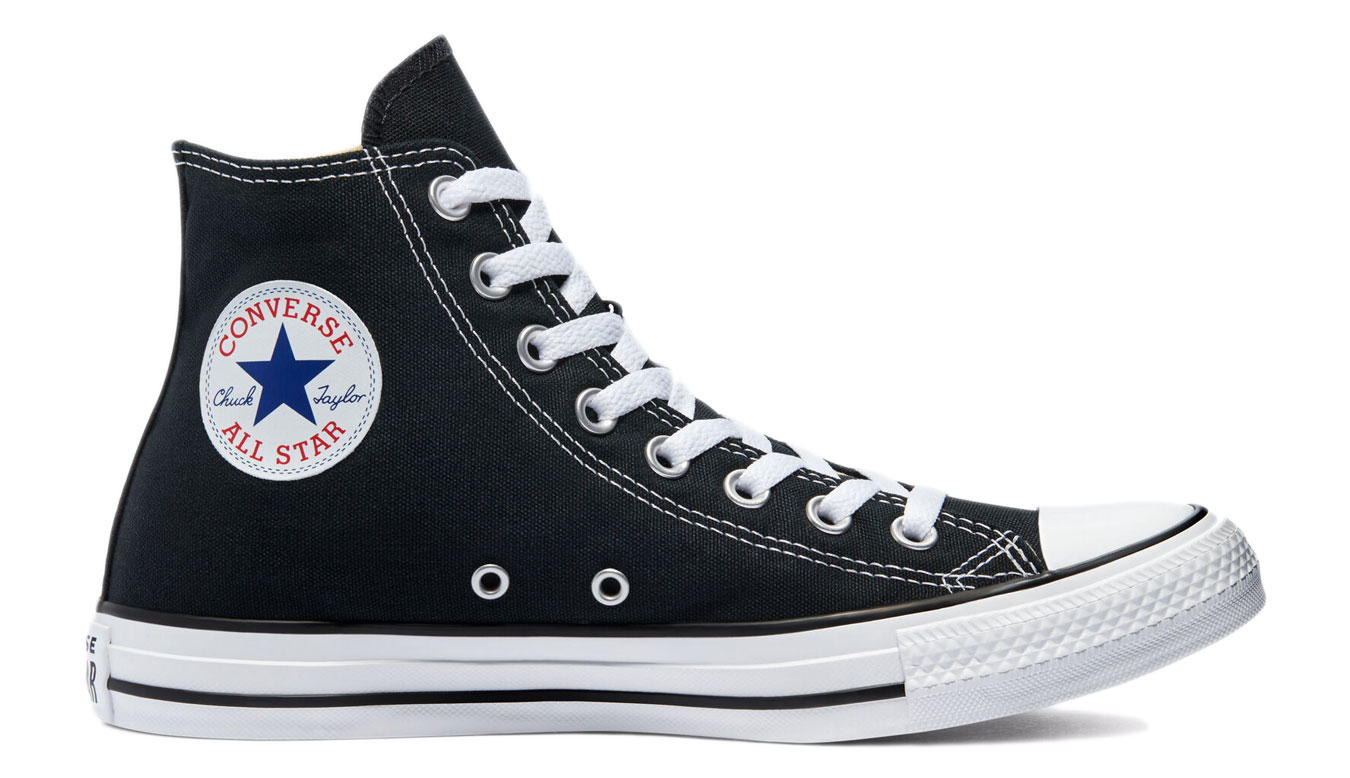 Converse Chuck Taylor All Star Hi Black čierne M9160 - vyskúšajte osobne v obchode