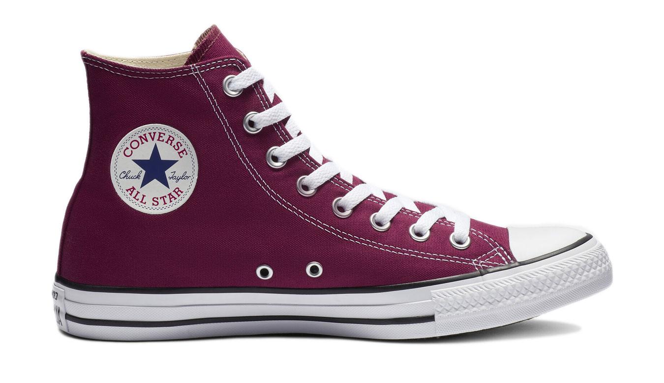 Converse Chuck Taylor All Star Hi Maroon červené M9613 - vyskúšajte osobne v obchode
