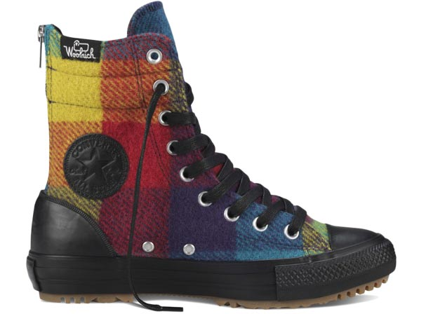 Converse Chuck Taylor All Star Hi-rise Boot Woolrich Hi