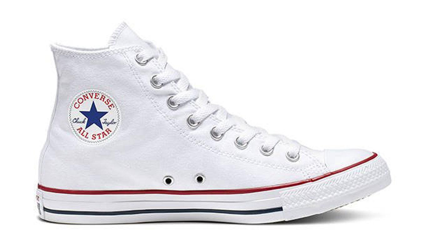 Converse Chuck Taylor All Star Hi White biele M7650 - vyskúšajte osobne v obchode