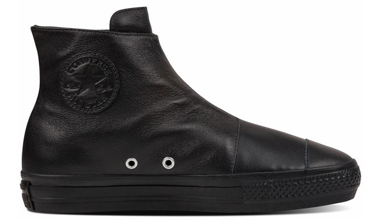 Converse Chuck Taylor All Star High Line Leather čierne C553312 - vyskúšajte osobne v obchode