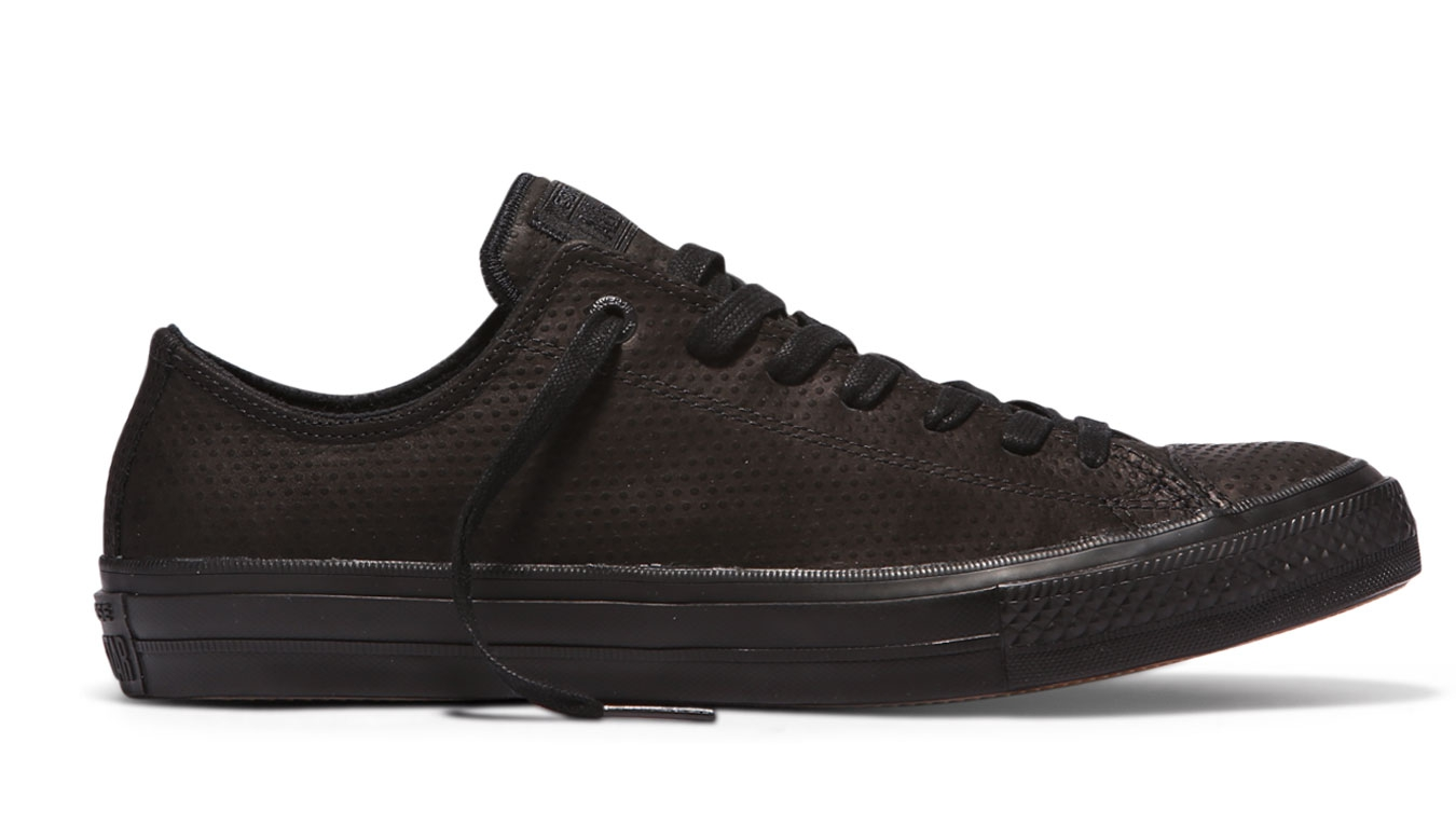 Converse Chuck Taylor All Star II Lux Leather Black čierne C155765 - vyskúšajte osobne v obchode