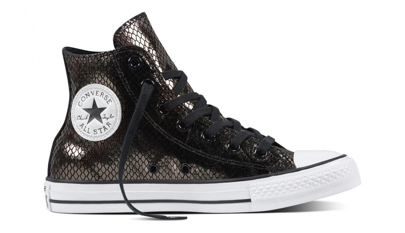 Converse Chuck Taylor All Star Metallic šedé C555966 - vyskúšajte osobne v  obchode ee28b7d6a05